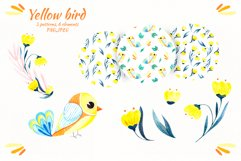 """Watercolor set """"Colored birds"""" Product Image 3"""