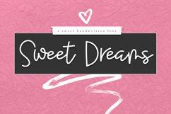 Sweet Dreams - Handwritten Script Font Product Image 1