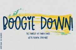 Boogie Down! Handlettered Sans Font Product Image 1