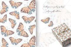 Watercolor butterflies 2 Product Image 5