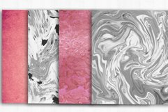 Marble Rose Gold Digital Paper, Marble background Product Image 4