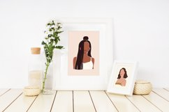 8 Vector Abstract Woman Portraits Product Image 2