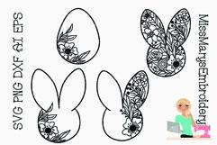 SVG Doodle Easter | Easter SVG | Springs SVG |Easter Bunny Product Image 1