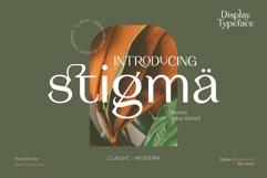 Stigma - Display Serif Font Product Image 1