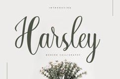 Harsley Script Product Image 1