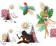 Tribal Spirit Clip Art Product Image 3