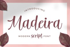 Madeira Script Product Image 1