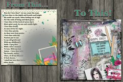 Journal Junky Digital Scrapbooking Templates Product Image 2