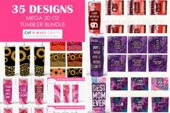 35 Designs MEGA 20 Oz. Skinny Tumbler Sublimation Bundle Product Image 1