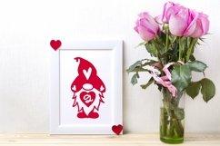 Web Font Gnomie Love - A Valentine's Day Monogram Font Product Image 2
