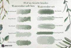Aqua Studio Watercolor brushes Product Image 3