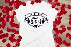 True Love SVG - LOVE Valentine's Day Product Image 2