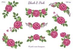 Black & Pink Product Image 4