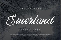 Emerland   Beauty Script Handwritten Product Image 1