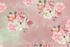 Pastel Flowers Digital Paper, Flower digital paper Product Image 3