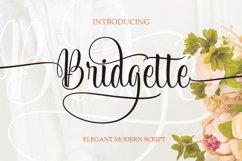 Bridgette Elegant Script Product Image 1