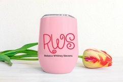 Web Font Spring Adventures - A Quirky Hand-Lettered Font Product Image 2