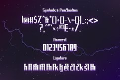 Elecstrom - Storm Display Font Product Image 4