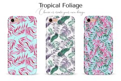 Tropical Foliage Watercolor Patterns Product Image 5