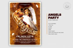 Angels Party Flyer Template V1 Product Image 2