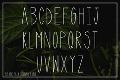 Beanstalk Skinny Font Product Image 4
