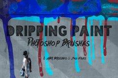 Dripping Paint Photoshop Brushes Product Image 1