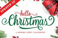 Hello Christmas - Modern Calligraphy Product Image 1