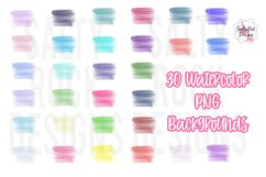 Watercolor PNG Backgrounds, Sublimation PNG Files,Watercolor Product Image 1