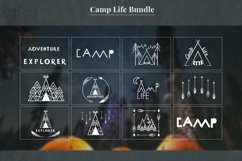 Camping life Graphic. 13 illustration in doodle style Product Image 2