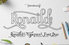 Ronalld Font Duo Product Image 1