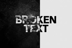 Broken Text Photoshop Effect Product Image 4