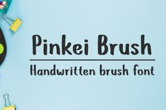 Pinkei Brush - Handwritten Brush Font Product Image 1