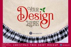 Christmas Tree Skirt Mockup   2 Styled Photos Product Image 2