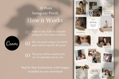 Instagram Puzzle Grid, Canva Product Image 2