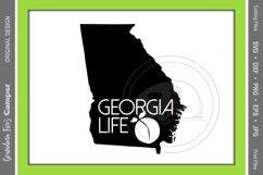 Georgia Life SVG, Georgia State Silhouette, Georgia Life Product Image 1