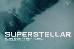 Superstellar - Sans serif font family Product Image 1