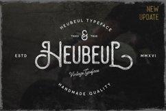 Hebeul Vintage Typeface Product Image 1