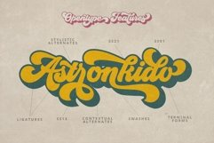Groovy - Retro Font Product Image 5