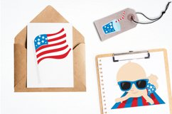 Baby 4th of July graphics and illustrations Product Image 4