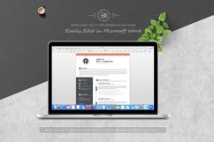 Resume / CV Template Product Image 5
