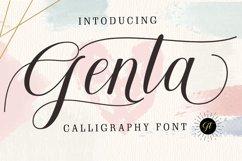 Genta Font Product Image 1