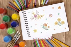 Floral stickers collection Product Image 4