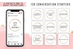 130 Social Media Conversation Starters Version 5 Product Image 1
