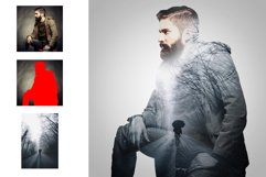 Double Exposure Photoshop Action Product Image 8