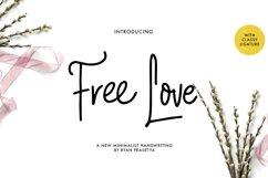 Free Love Script Product Image 1