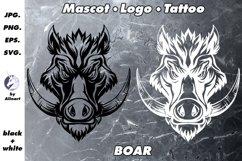 Mascot and Logo Wild boar Illustration Product Image 1