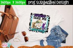 Cowboy take me away| Western sublimation design Product Image 2