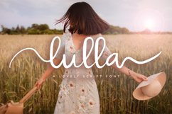 Lulla Font - A Lovely Script Font Product Image 1