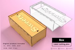 BOX - laser cut file Product Image 3
