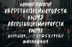 Withhold - Modern Brush Font Product Image 5